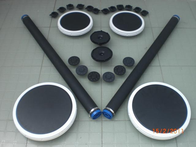 Đĩa thổi khí – đĩa khuếch tán khí – ống phân phối khí