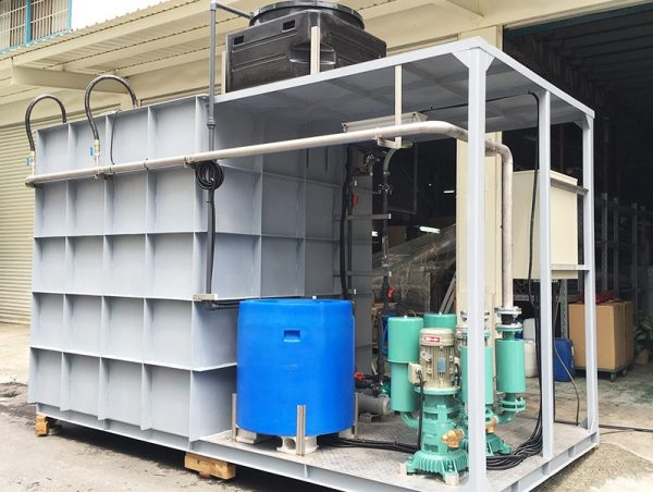xử lý nước thải nhà hàng